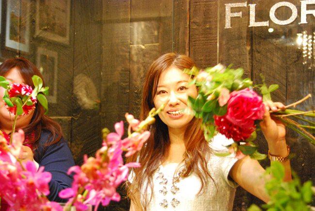 AIFD協会認定フローラル・デザイナーの和気雅美さん