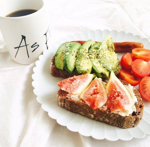 PR 林真奈美さんの休日に食べたい朝ごはん