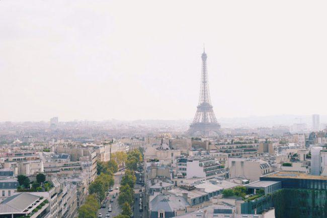 パリで一番高いモンパルナスタワーから