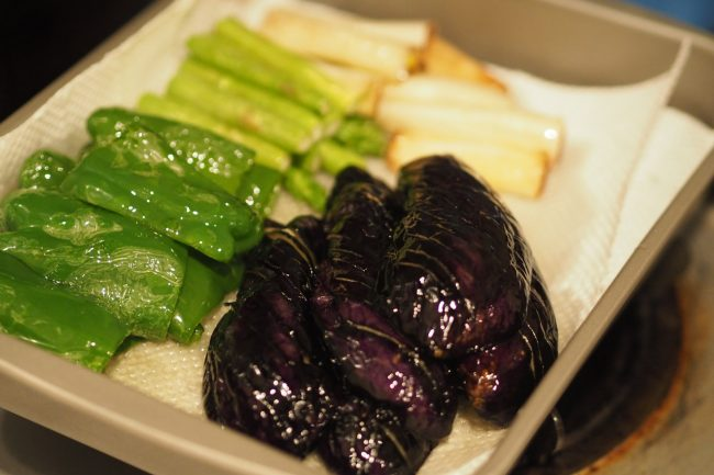 お野菜の素揚げ