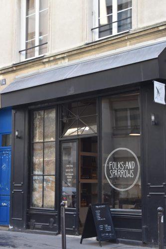 パリのオススメカフェ「Folks And Sparrows」