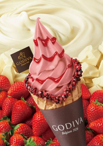 「ホワイトチョコレート ストロベリー