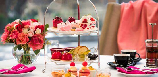 東京マリオットホテル Happy Heart Afternoon Tea with Haagen-Dazs