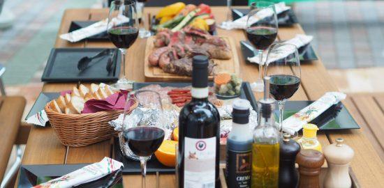 都会の真ん中でおしゃれにイタリアン式BBQを楽しむ!