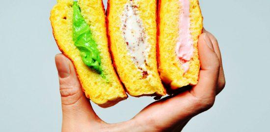 カリッ、ふわ、とろり。新食感のアイスクリームスイーツが誕生!