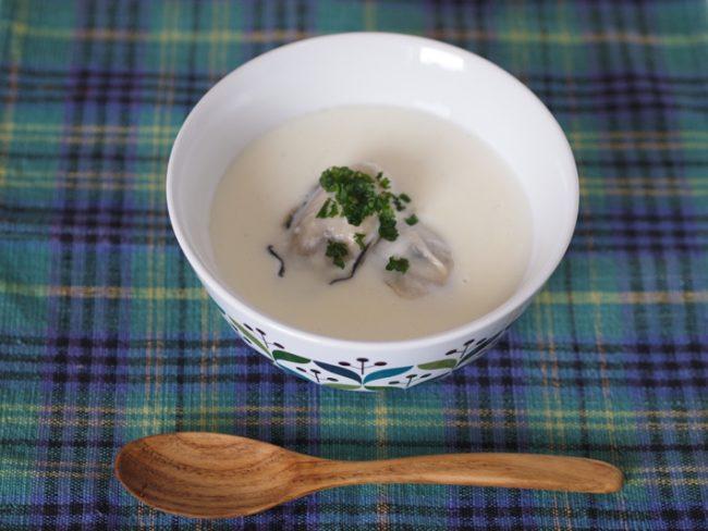 【レシピ】オイスターチャウダーで冬に備えて免疫力UP