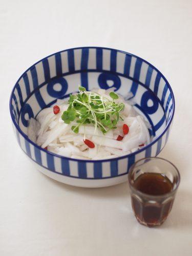【レシピ】気管支スッキリ!大根とくこの実のサラダ