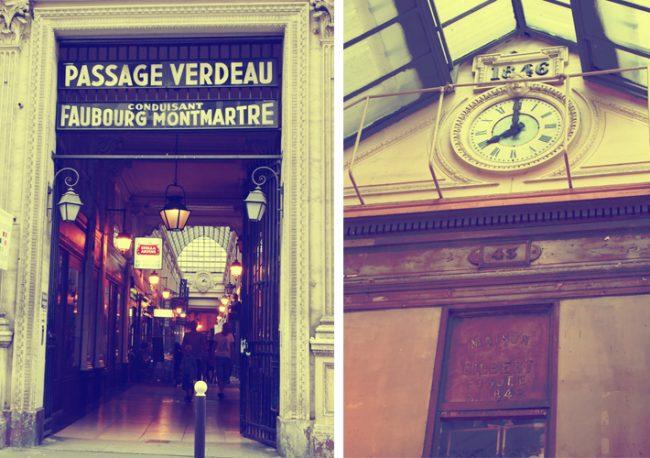 パリのパッサージュ「パッサージュ・ジュフロワ」
