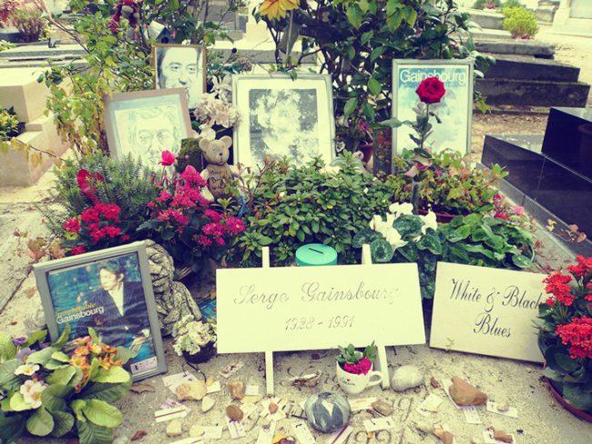 パリのセルジュ・ゲンスブール巡礼スポット