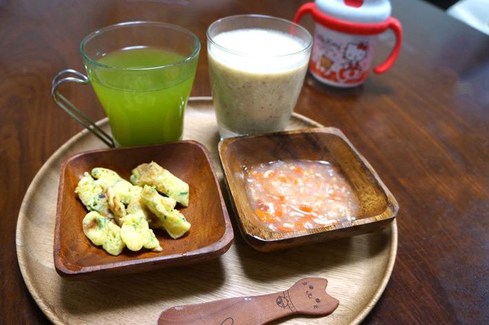 緑茶とスムージー
