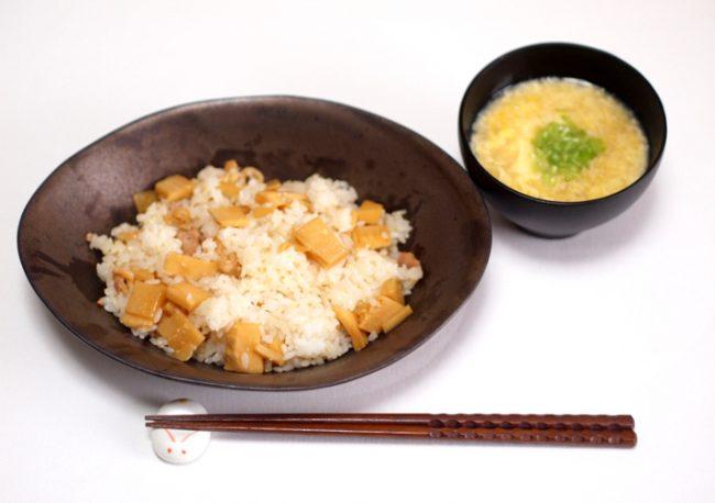 【レシピ】むくみを撃退!たけのこ寿司とかき玉汁