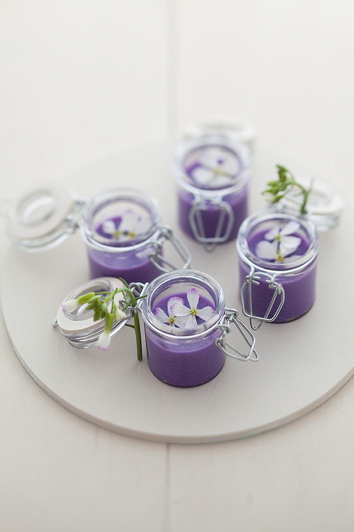 紫キャベツのポタージュ