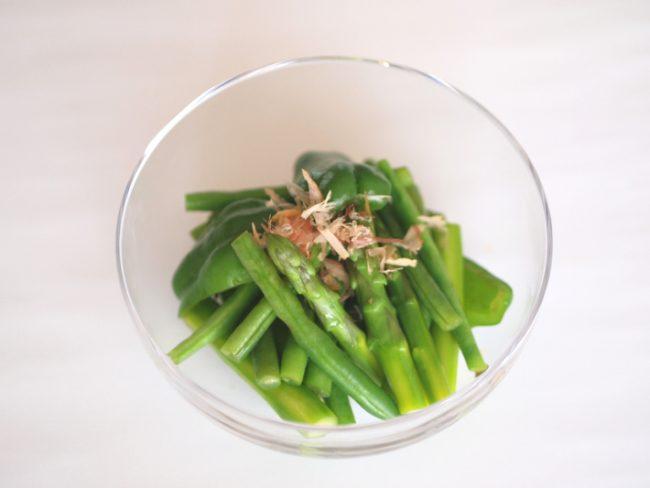 【レシピ】緑の野菜の煮びたしで夏に向けて免疫力UP!