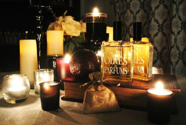 秋の月夜は物語と香り