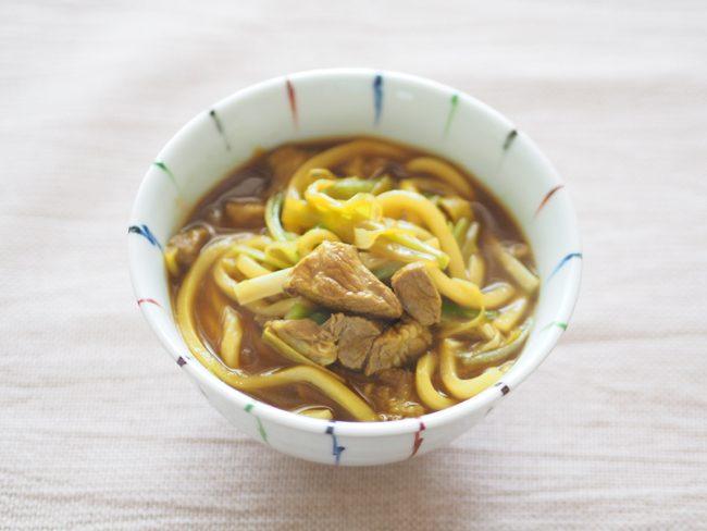 【レシピ】食べると幸せになれる!?カレーうどん