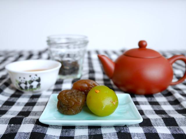 お茶と茶梅と旅の計画(事前準備編)