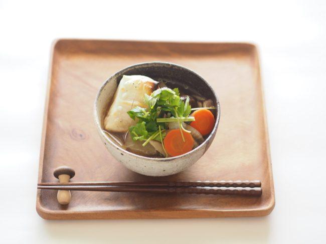 【レシピ】いよいよ冬本番・・・冷え性対策に具だくさんのお雑煮を