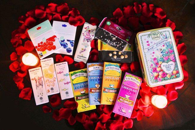 恋の季節に、美味しい自然派チョコはいかが?