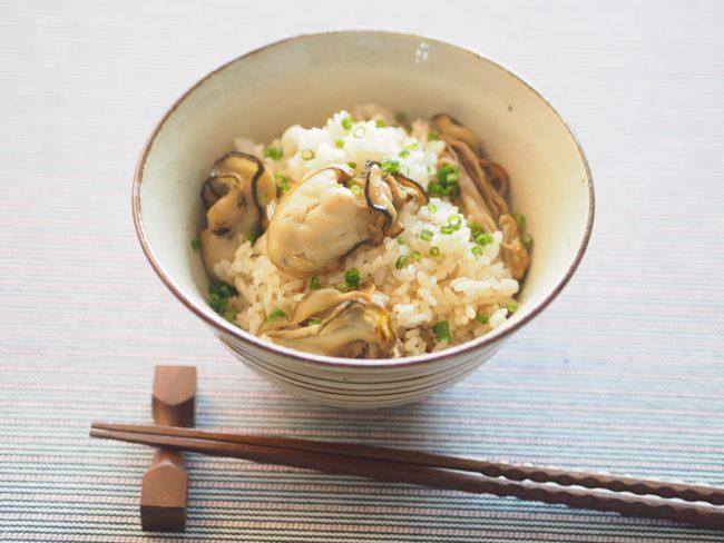 【レシピ】美肌効果抜群!今が旬!おいしいかきご飯