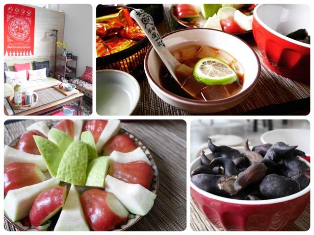 素敵な台湾風インテリアの中で学ぶ台湾家庭料理(後編)