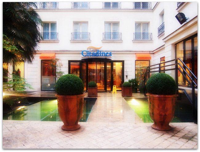 暮らすようにパリ滞在!アパートメントホテル「シタディーヌ」