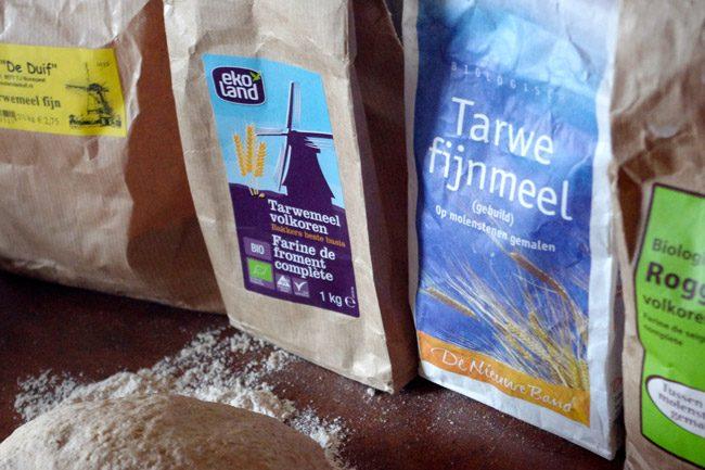 風車がかわいいLandwinkelで小麦粉を