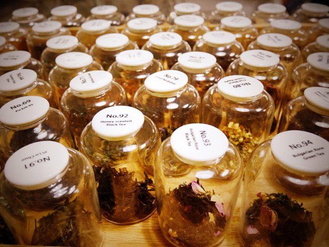 約50種類の茶葉からお茶を選べる台湾のお気に入りカフェsmith&hsu