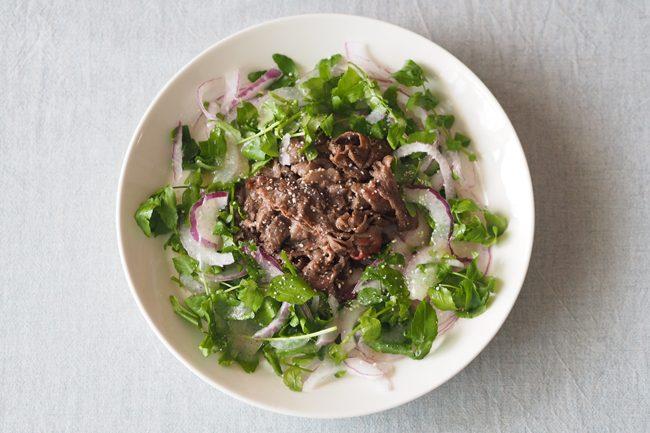 【レシピ】美容も健康もこれ1つでOK!牛肉のさっぱりイタリアンサラダ