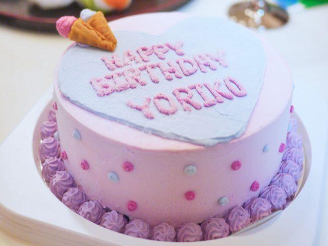 アイスケーキで祝う!童心に帰る誕生日パーティー