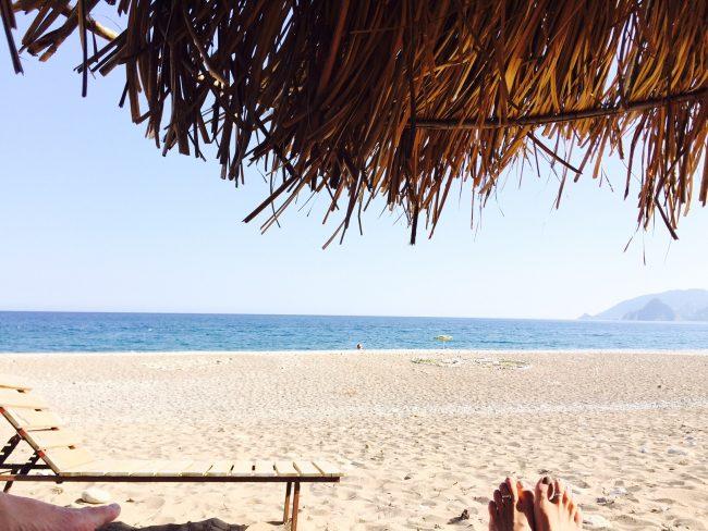 トルコの田舎、隠れビーチでデトックス&バランシング!