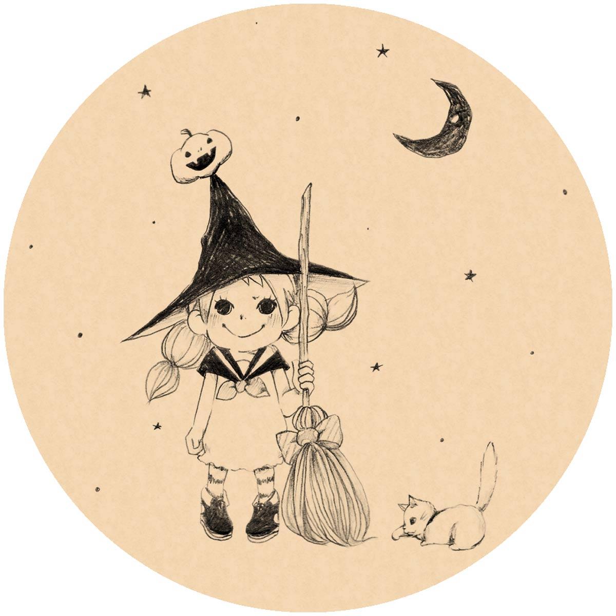 ハロウィンの女の子