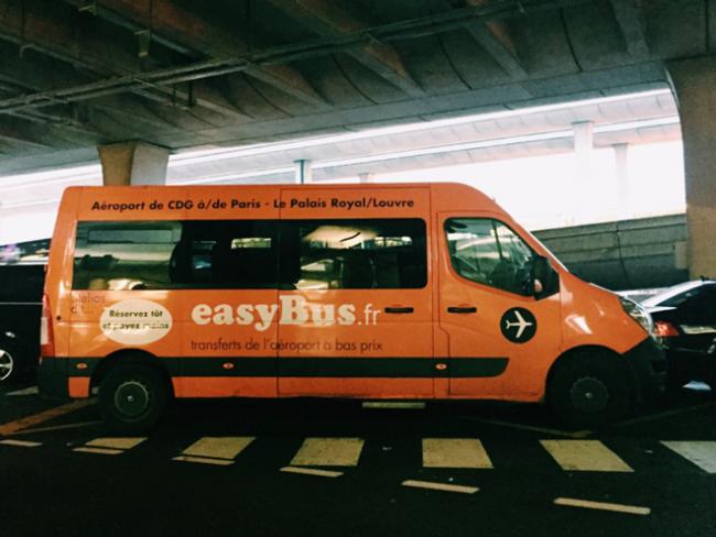 2ユーロでCDG空港〜パリへ!easyBus(イージーバス)