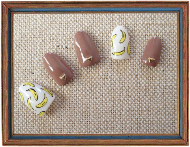 【ネイル】ポップなバナナネイルで新年をスタート!