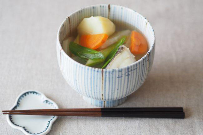 【レシピ】今が旬!鱈の三平汁でカラダにやさしく