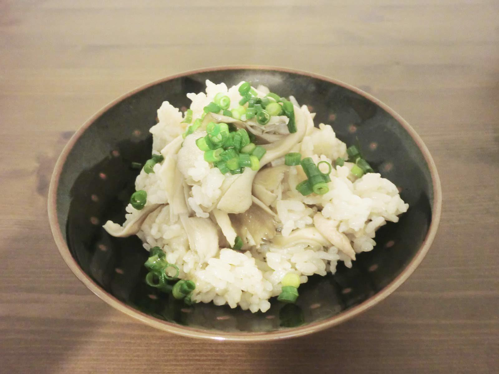 舞茸の炊き込みご飯