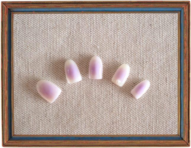 【ネイル】ぽわんと色づく春らしいラベンダーカラーのチークネイル