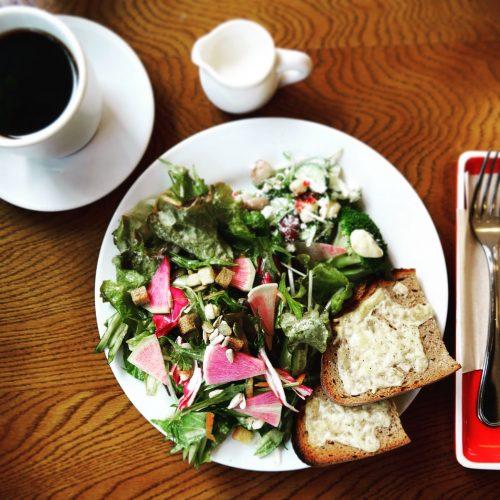 【朝ごはん】美人になれる! 茗荷谷のカフェKNETENのモーニング