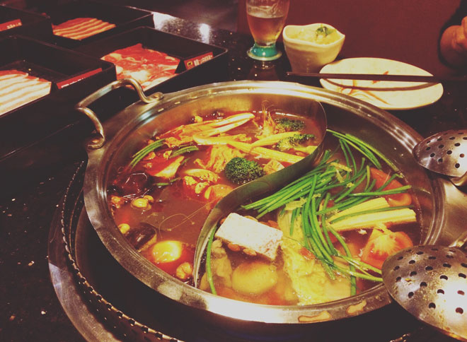 台湾の火鍋