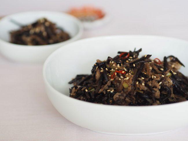 【レシピ】大人女子はおいしく賢く!ひじきの韓国風炒め煮