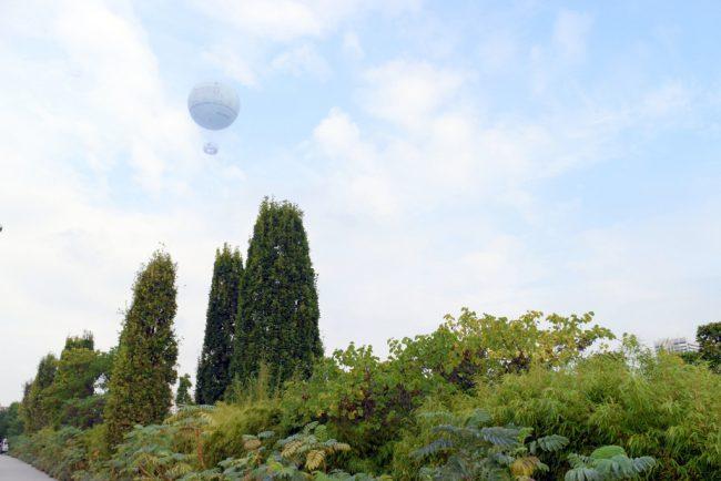 気球で空の上からパリの絶景を!Ballon de Paris(バロン ド パリ)