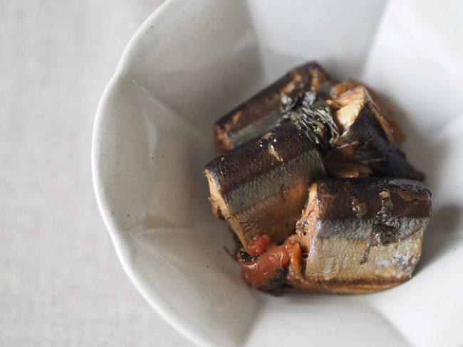 【レシピ】体の酸化防止に!さんまの梅干し煮