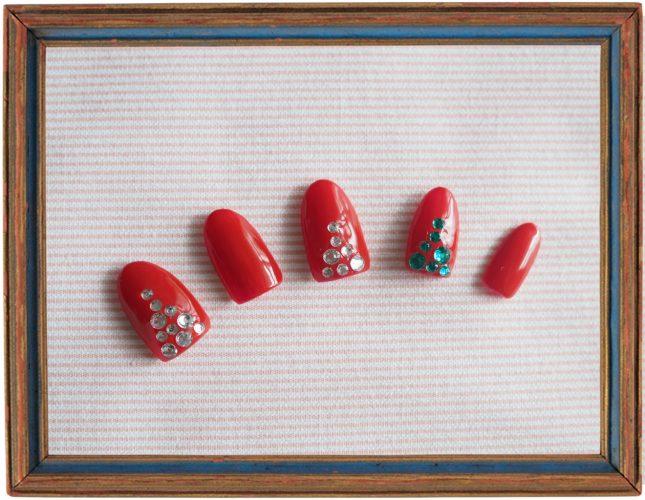 【ネイル】セクシー&キュートな真っ赤なクリスマスネイル
