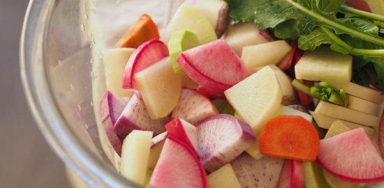 色とりどりの鎌倉野菜