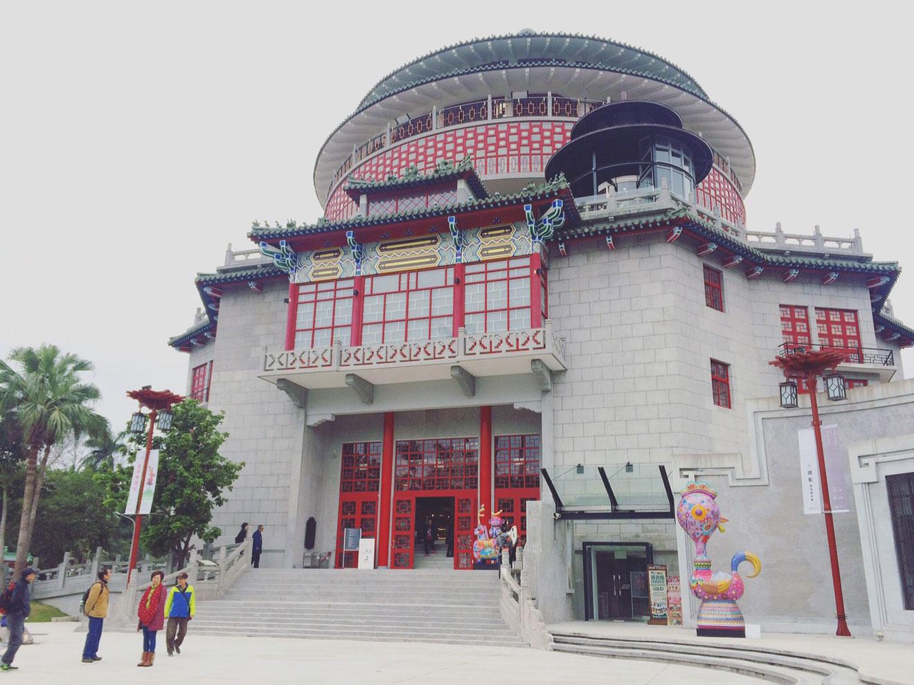 国立台湾科学教育観という建物をリノベーション
