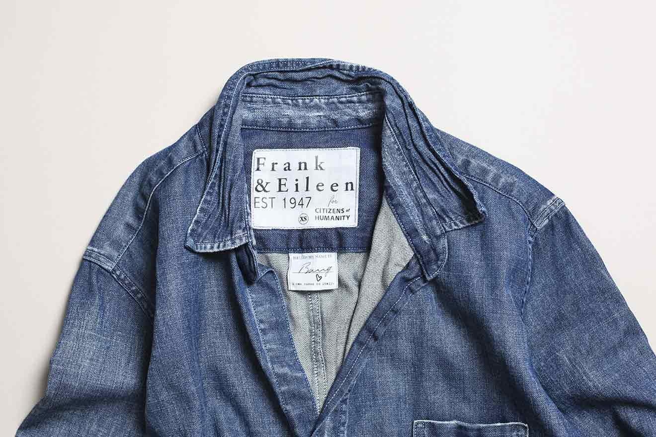 フランク&アイリーン フォー シチズンズ・オブ・ヒューマニティのコラボレーションシャツ
