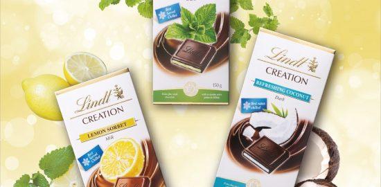"""夏到来、リンツから、冷やして食べる""""夏チョコレート""""登場!"""