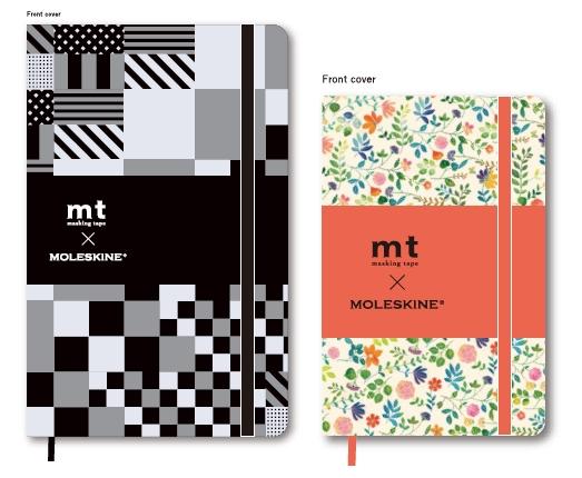 mtとモレスキンのコラボノートブック