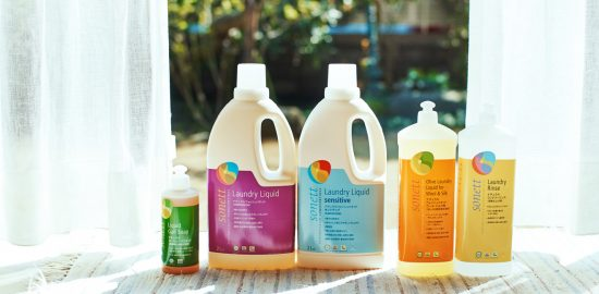 オーガニック洗剤「SONETT(ソネット)」で夏のお洗濯も快適に!