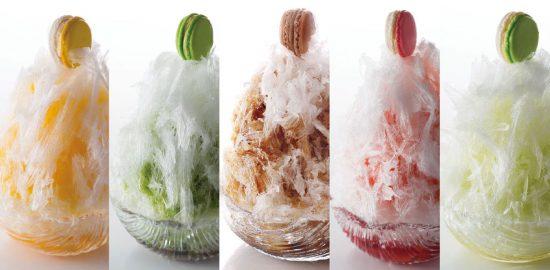 サツキ江戸かき氷