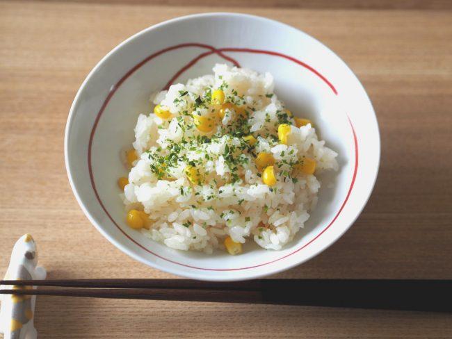 【レシピ】夏疲れにはとうもろこしご飯を